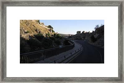 Road Towards Toledo Framed Print