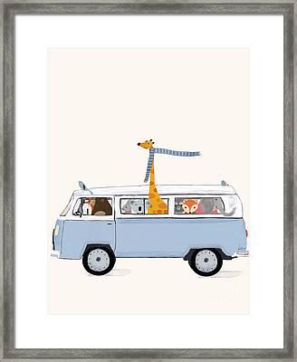 Road Trip Framed Print