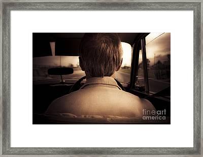 Road Trip Down Memory Lane Framed Print