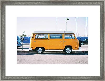 Road Trip Framed Print by Happy Home Artistry