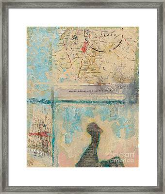 Road Trip Framed Print by Robin Wiesneth