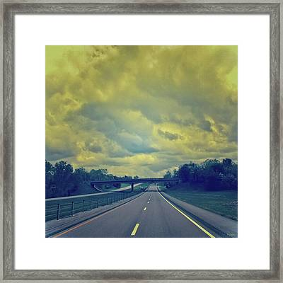 Road Trip Framed Print by Tony Grider