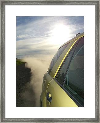 Road Warrior Framed Print by Jessica Yudis