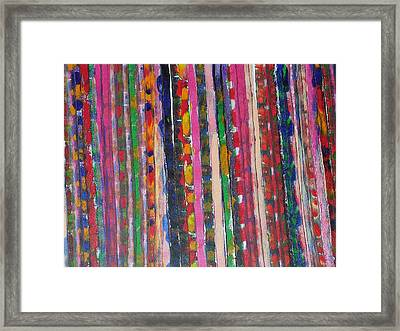 Roadmap I Framed Print by Russell Simmons