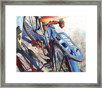 Roadmaster Framed Print by Andrew King
