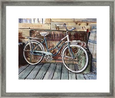 Roadmaster Bicycle Framed Print