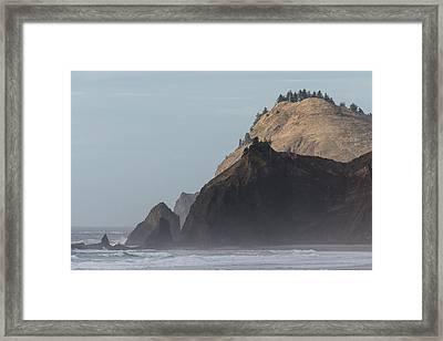 Road's End Framed Print