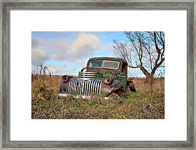 Roads No More Framed Print