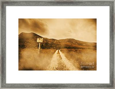 Roads Of No Return Framed Print by Jorgo Photography - Wall Art Gallery
