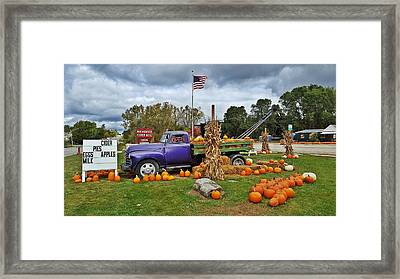 Roadside Framed Print by 2141 Photography