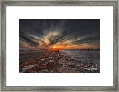 Roadside Awe Framed Print by Ian McGregor
