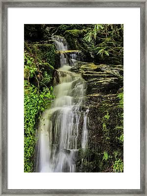 Roadside Waterfall Framed Print