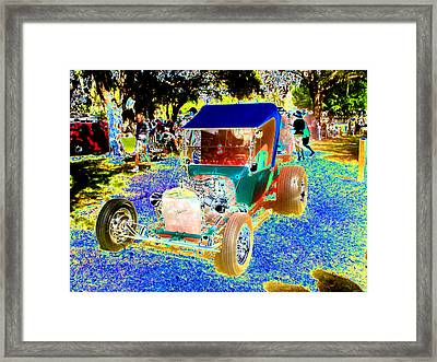 Roadster Framed Print by Peter  McIntosh