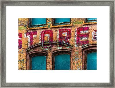 Roadway Outdoor Store Pittsburgh V2 Dsc0931 Framed Print
