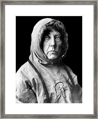 Roald Amundsen, The First Person Framed Print by Everett