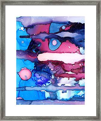 Roaming Free In The Valley Of The Elephants Framed Print by Sir Josef - Social Critic -  Maha Art