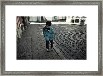 Roaming Soul Framed Print by Michel Verhoef