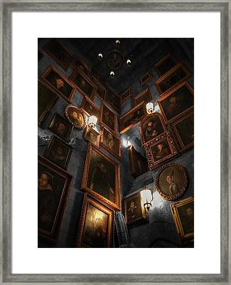 Roaming The Walls  Framed Print by Luis Rosario