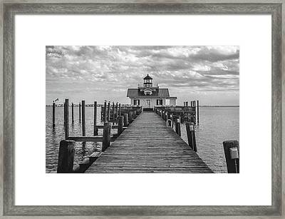 Roanoke Marshes Light Framed Print
