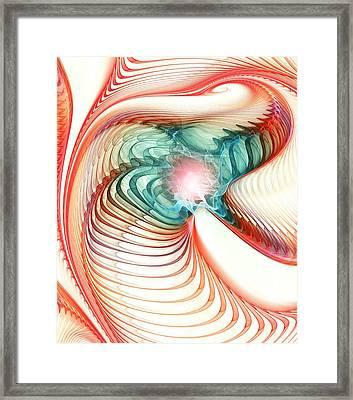 Roar Of A Dragon Framed Print