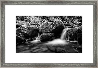 Roaring Fork - Gsmnp Framed Print by Stephen Stookey