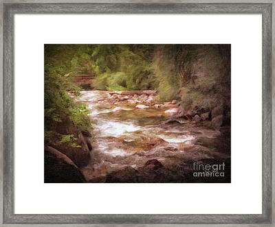 Roaring Fork River Framed Print
