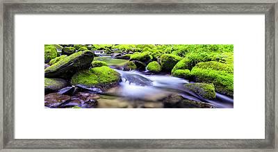 Roaring Fork Serenity Framed Print by Stephen Stookey