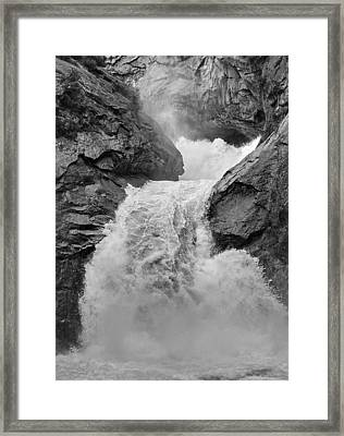 Roaring Fork Waterfall Framed Print by Arthurpete Ellison