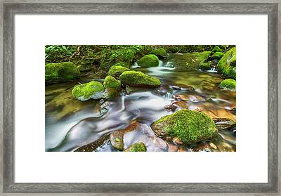 Roaring Fork Waters Framed Print by Stephen Stookey