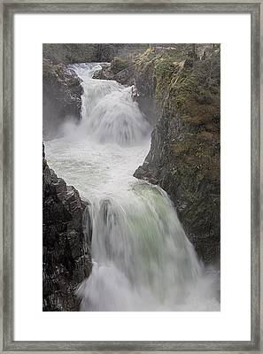 Framed Print featuring the photograph Roaring River by Randy Hall