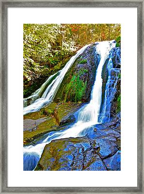 Roaring Run Falls State Park Virginia Framed Print