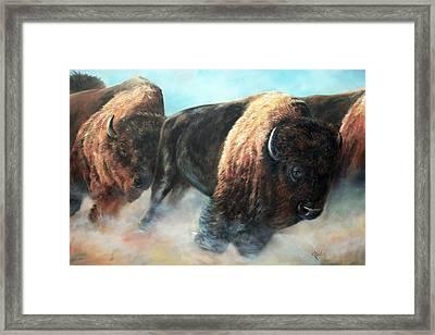 Roaring Thunder Framed Print