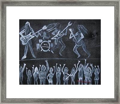 Rob Zombie Framed Print by Gregory Davis