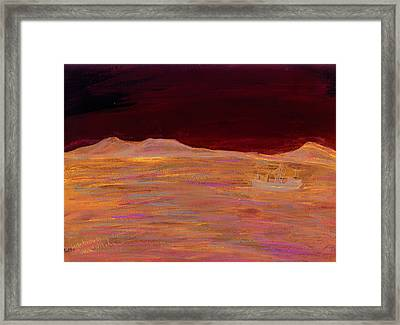Robbin Island Capetown Bay South Africa Framed Print by Kevin Callahan