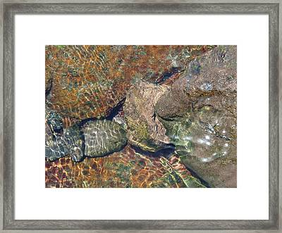 Atlantis - Beauty Of Stones And Water Framed Print
