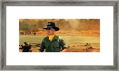 Robert Duvall @ Apocalypse Now Framed Print