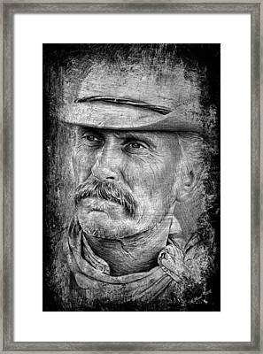 Robert Duvall As Gus Framed Print by Andrew Read