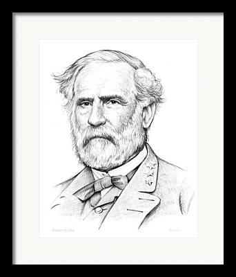 Confederacy Drawings Framed Prints