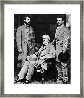 Robert E Lee Framed Print