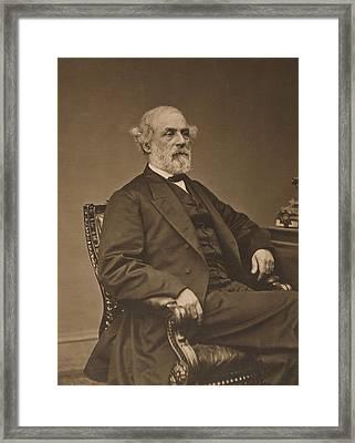 Robert Edward Lee 1807-1870 Framed Print