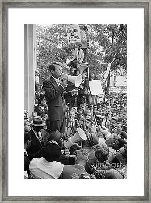 Robert F. Kennedy Framed Print by Granger