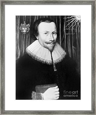 Robert Fludd, Physician, Astrologer Framed Print