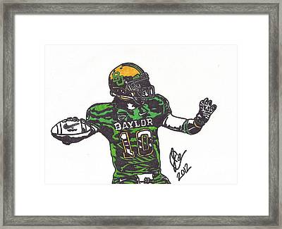 Robert Griffin IIi 1 Framed Print by Jeremiah Colley