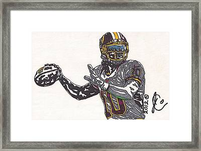 Robert Griffin IIi 2 Framed Print by Jeremiah Colley