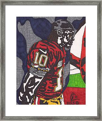 Robert Griffin IIi 3 Framed Print by Jeremiah Colley