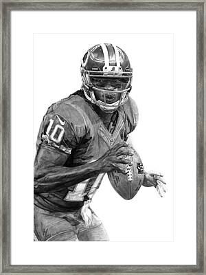 Robert Griffin IIi Framed Print by Bobby Shaw