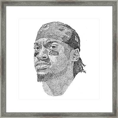 Robert Griffin IIi Framed Print by Marcus Price