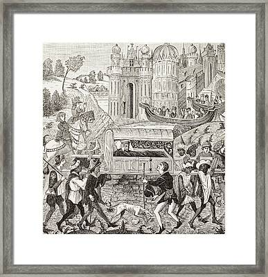 Robert I, Duke Of Normandy, Father Of Framed Print by Vintage Design Pics