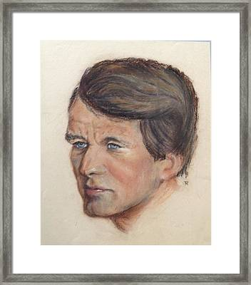 Robert Kennedy Framed Print by Anthony Ross