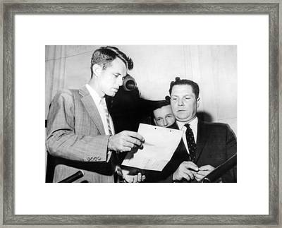 Robert Kennedy, Chief Counsel Framed Print